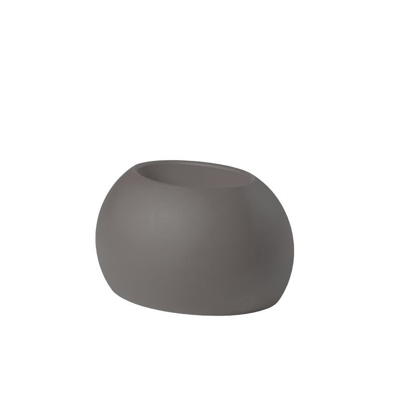 BLOS POT Blumentopf argil grey