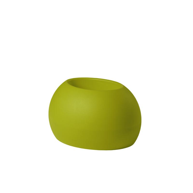BLOS POT Blumentopf lime green