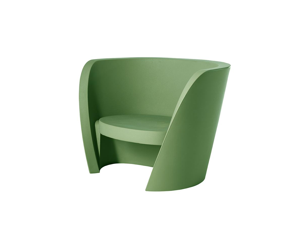 RAP Sessel malva green