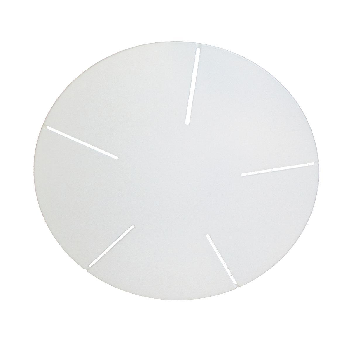 MULTIPLE 5 Baldachin 47 cm lackiert weiß matt