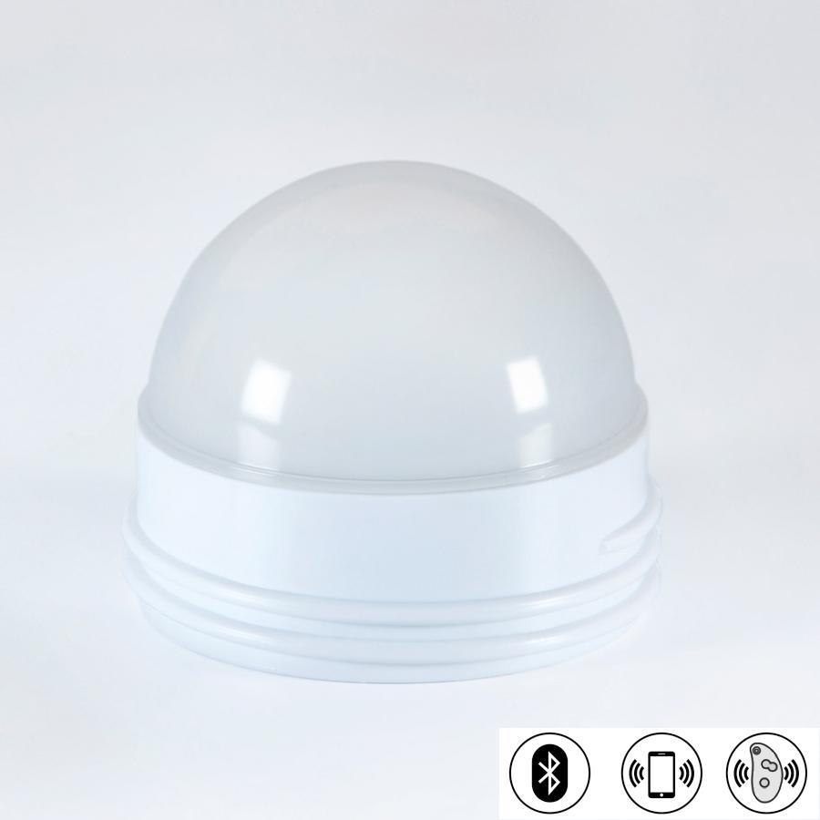 CANDY LIGHT Akku mit LED Beleuchtung und Bluetooth-Fernbedienung