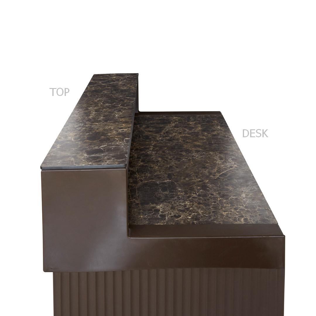 CORDIALE Ablageplatten TOP und DESK in HPL Marmoroptik
