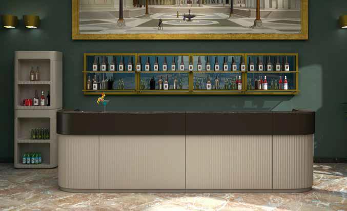 CORDIALE Bar gerades Element Ausführung nach Wunsch