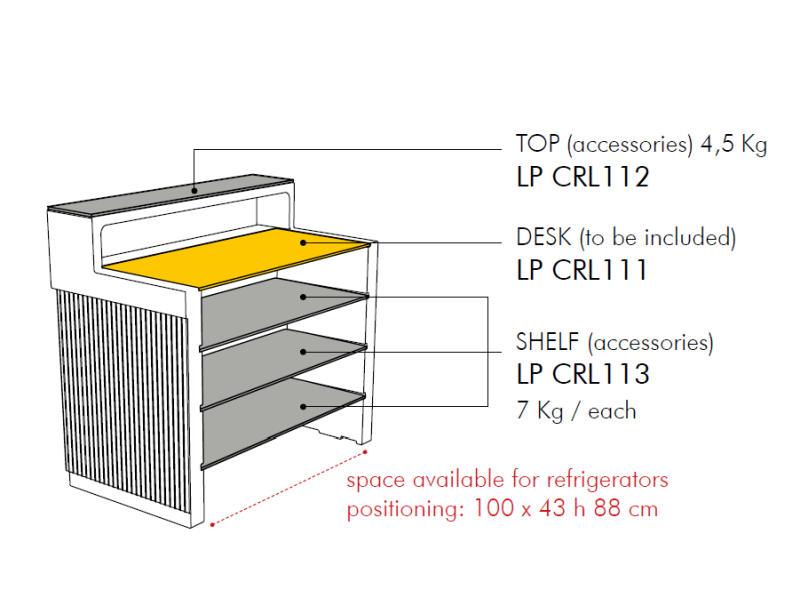 CORDIALE Counter Bar technische Details