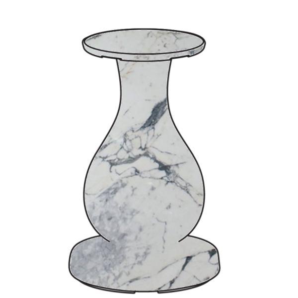 OTTOCENTO Fuß klei, Ausführung arabescato (marmoriert), Computerbild