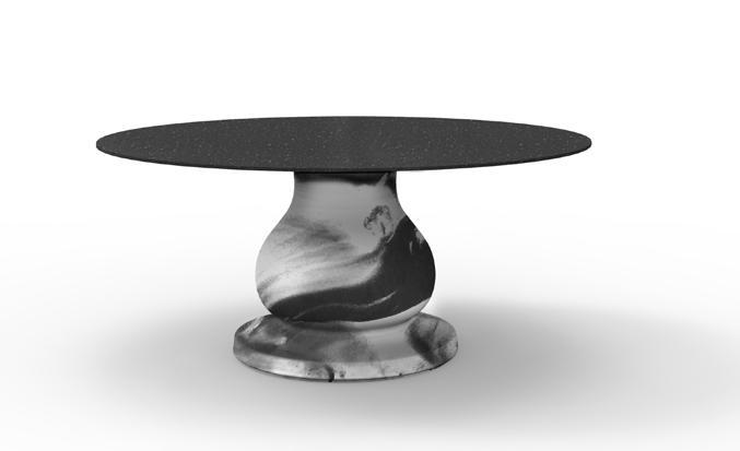 OTTOCENTO Tisch Größe und Ausführung nach Wunsch