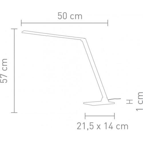 Uli Tischleuchte LED weiß
