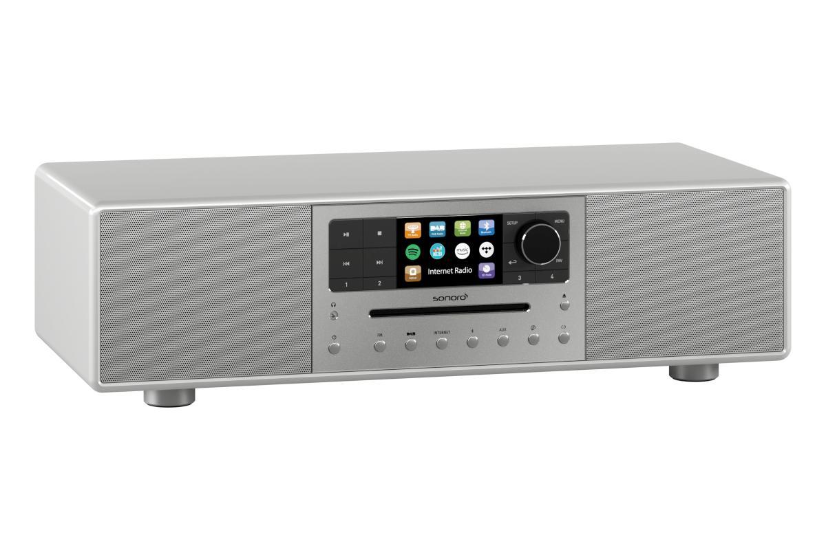 sonoro Meisterstück Audiosystem 2020 silber