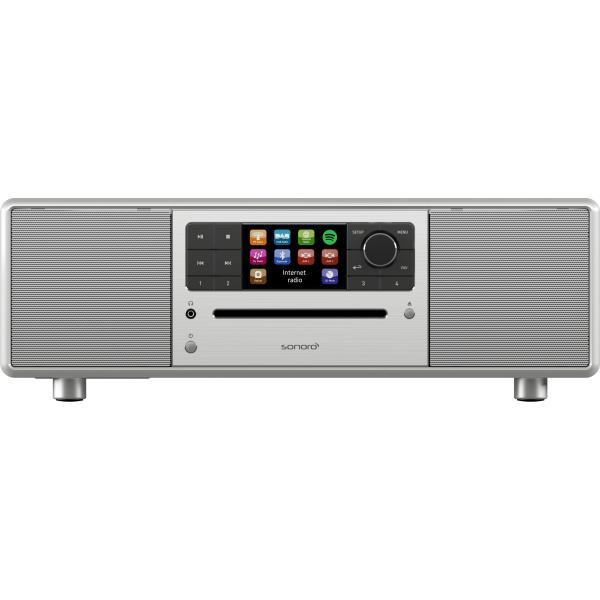 sonoro PRESTIGE Internetradio / CD-Player, silber