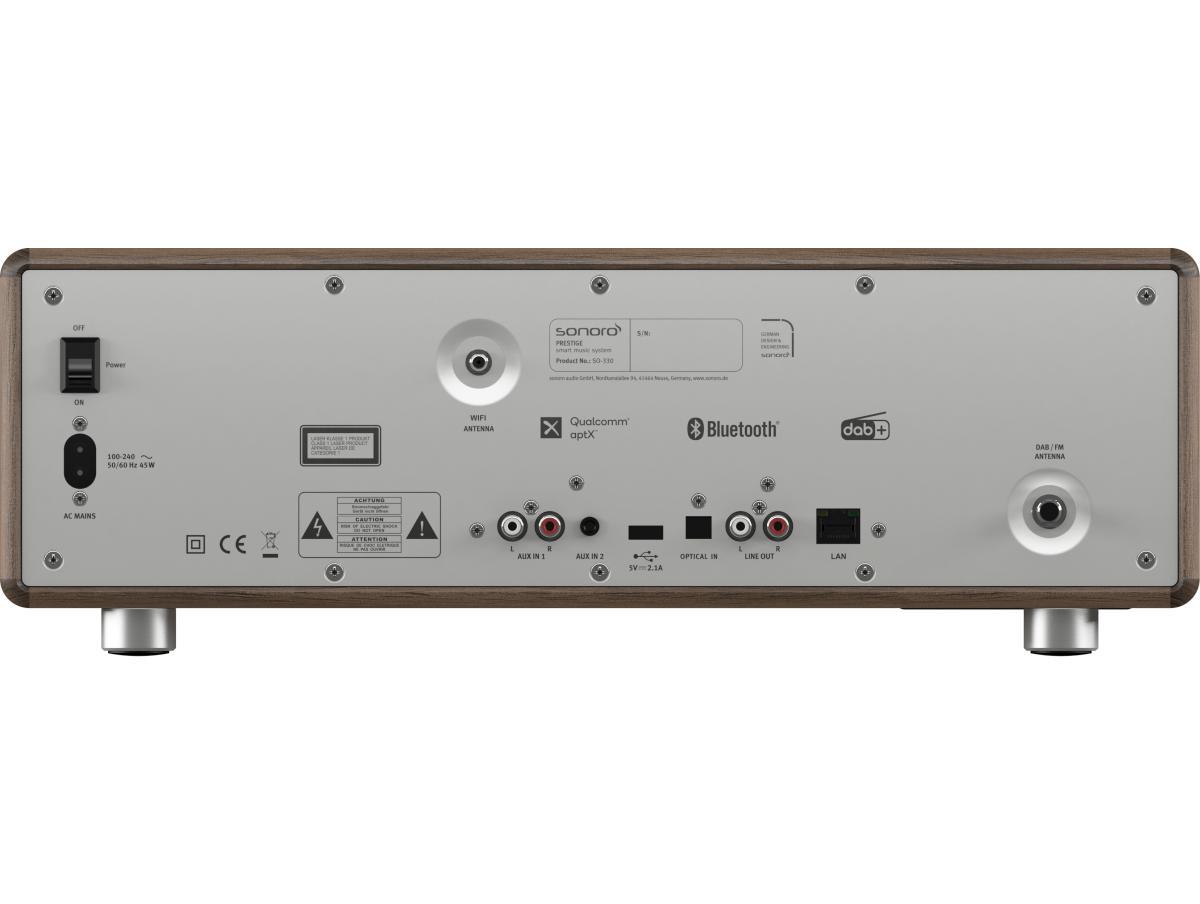 sonoro PRESTIGE Audiosystem walnuss