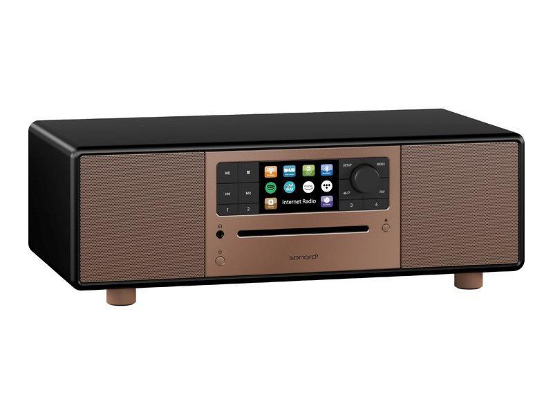 sonoro PRESTIGE Audiosystem 2020 schwarz matt, Front kupfer