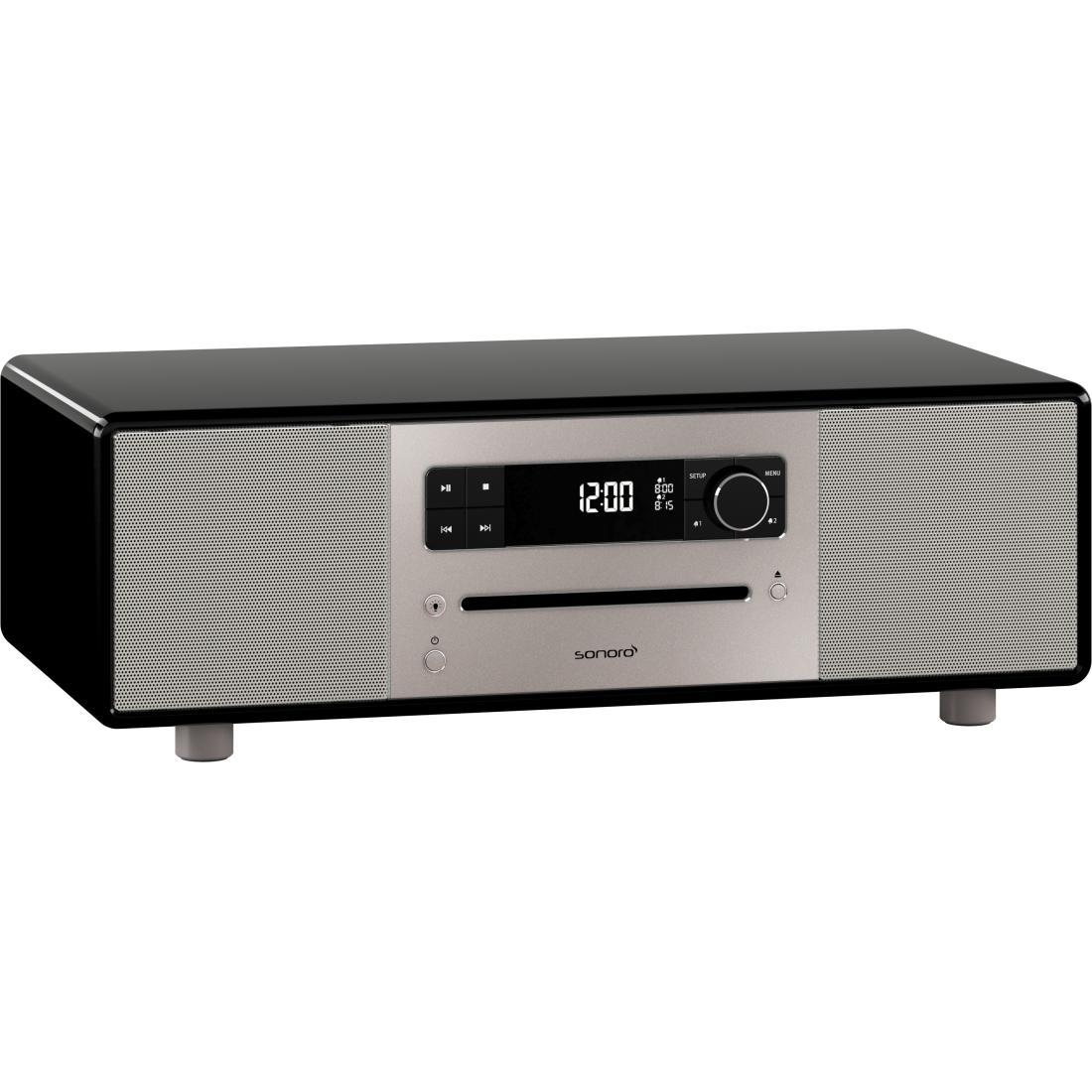 sonoro Lounge Audiosystem schwarz