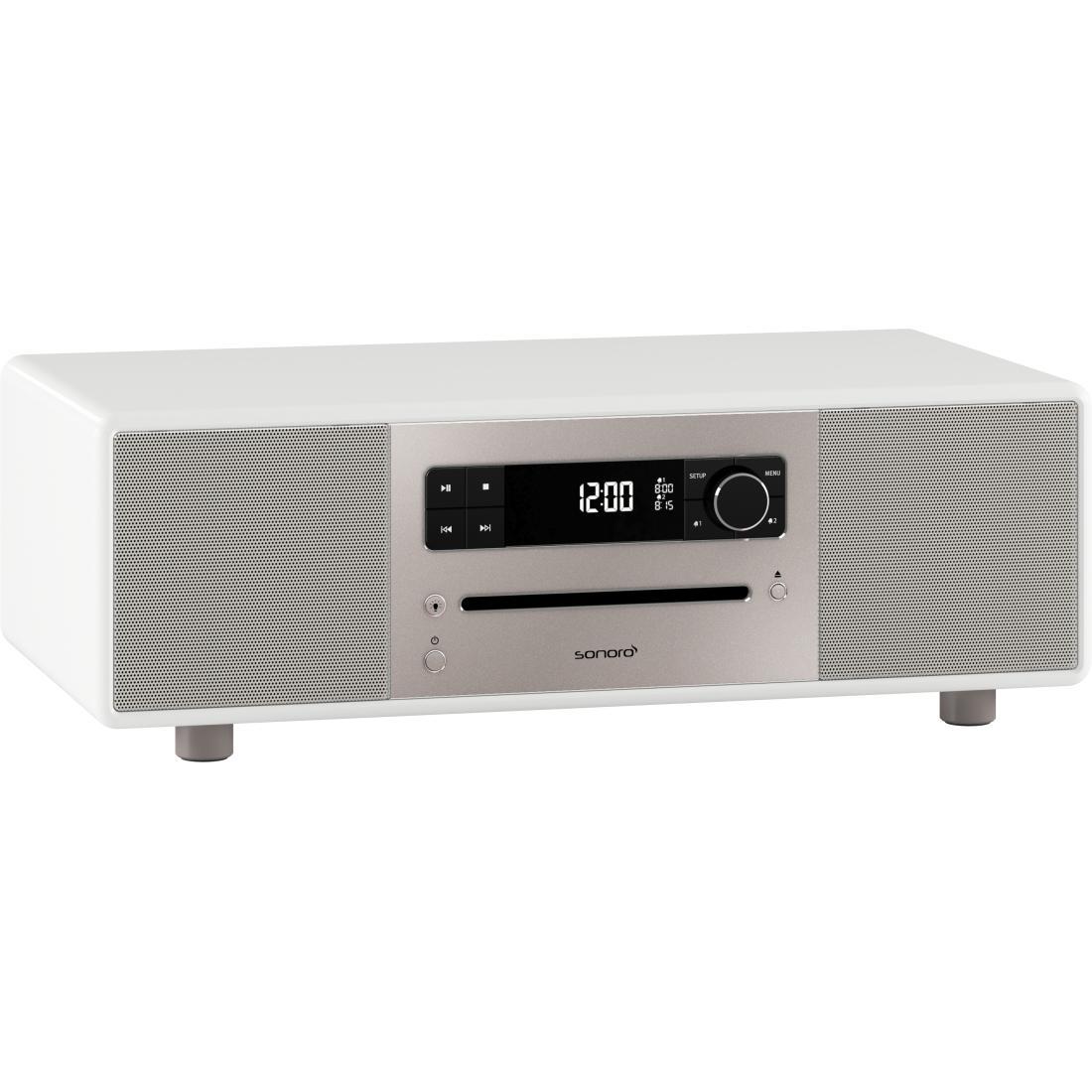 sonoro Lounge Audiosystem weiß