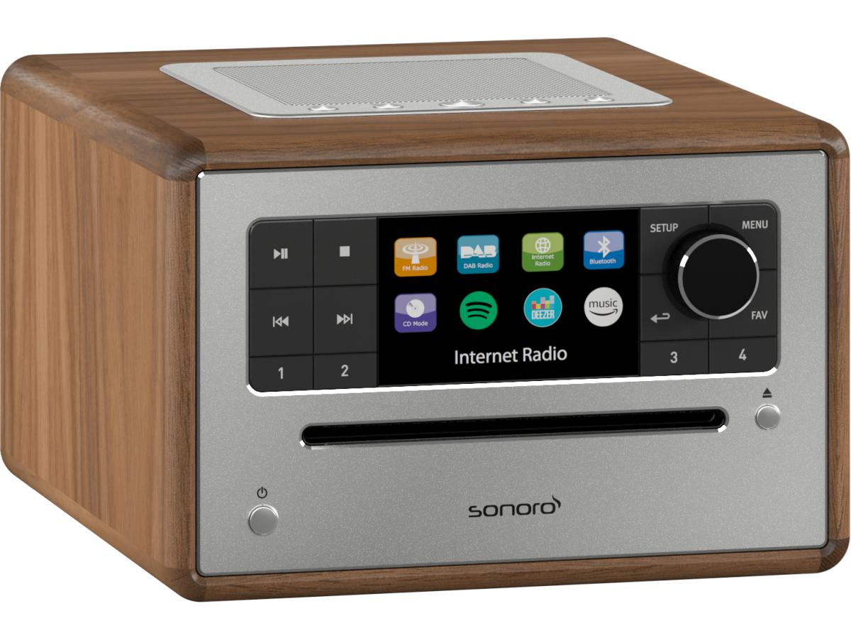 sonoro Elite Audiosystem 2020 walnuss