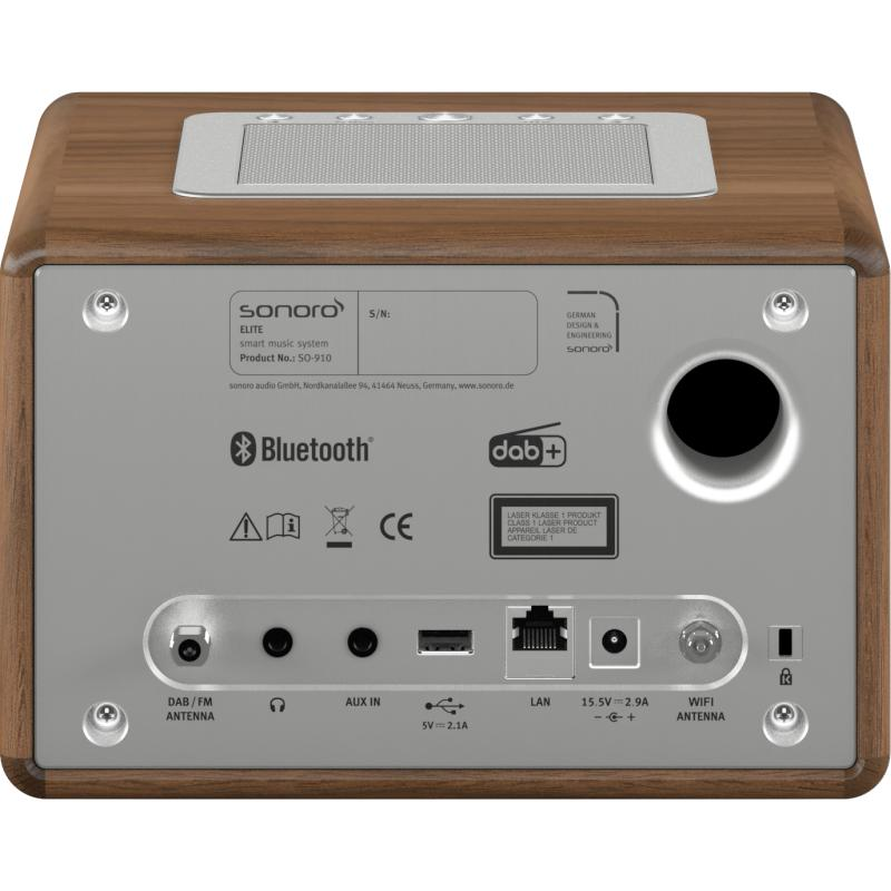 sonoro Elite Audiosystem walnuss