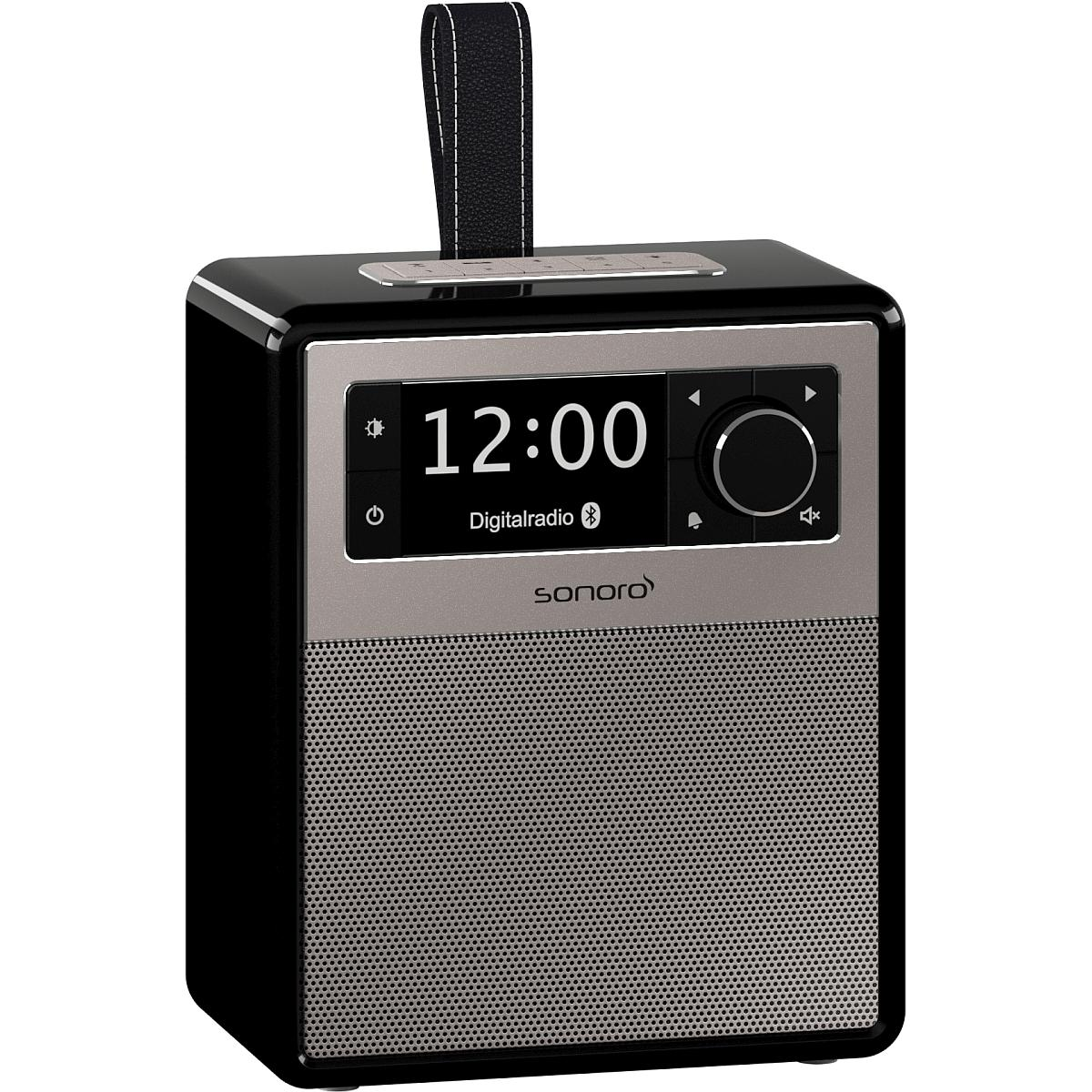 sonoro Easy Bluetooth Radio schwarz