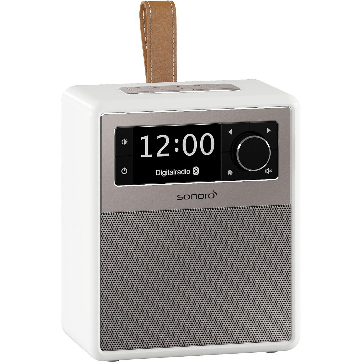 sonoro Easy Bluetooth Radio weiß
