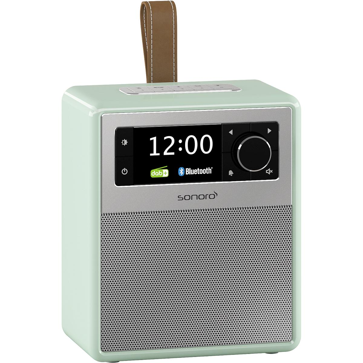 sonoro Easy Bluetooth Radio pastellgrün