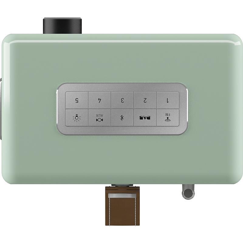 sonoro Easy Bluetooth Radio pastellgrün Bedienfeld oben