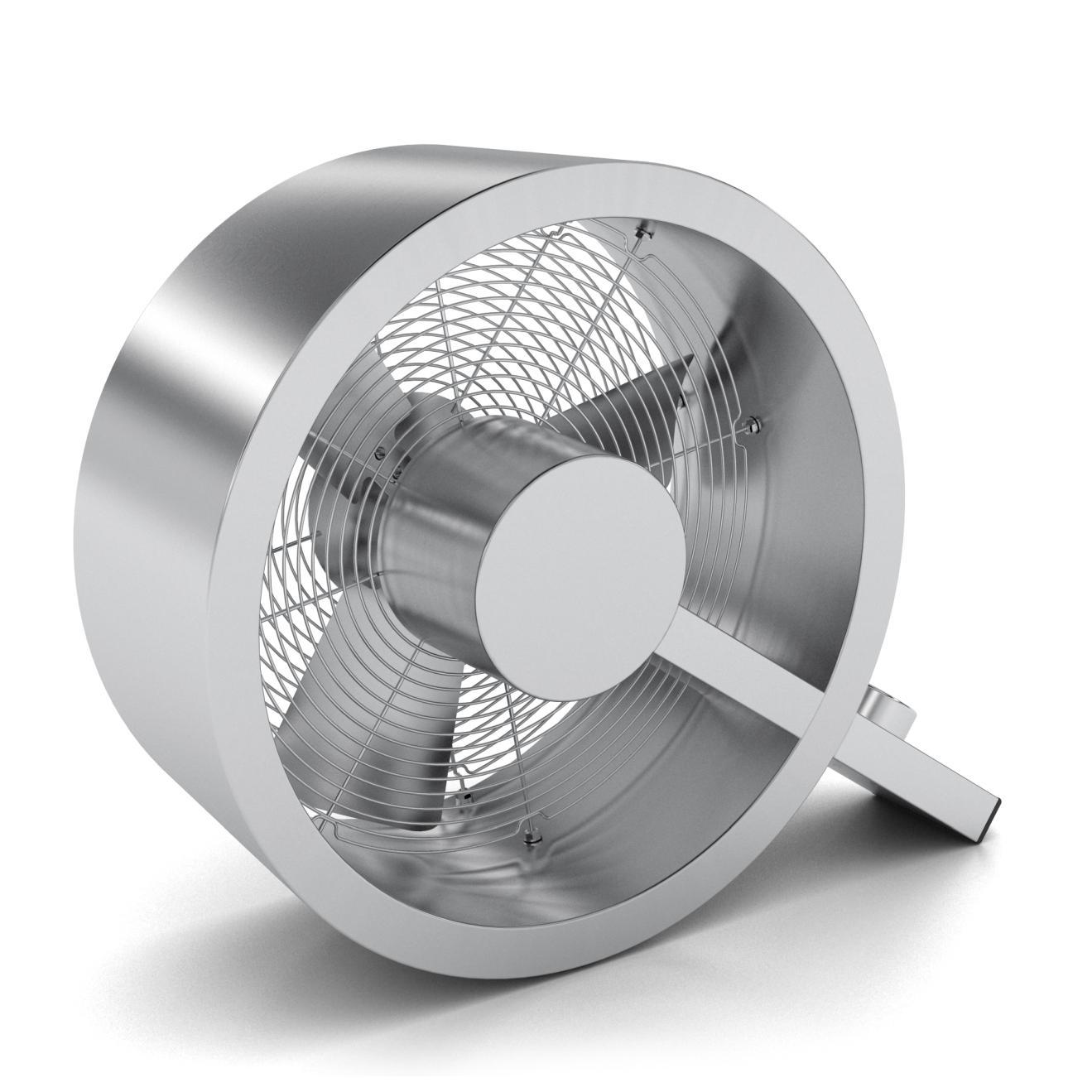 Q Ventilator - der coole Designer Alu poliert