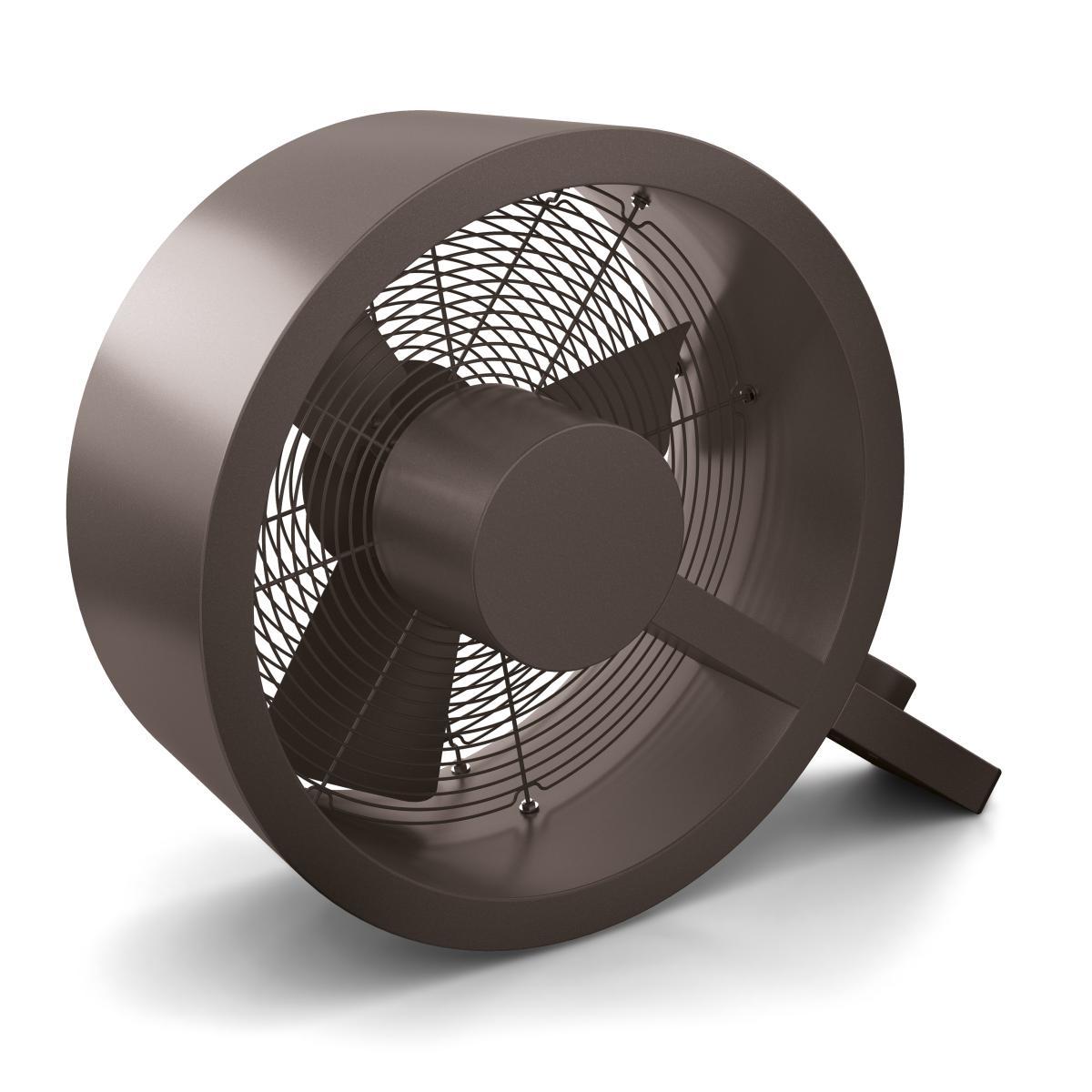 Q Ventilator - der coole Designer Alu bronze
