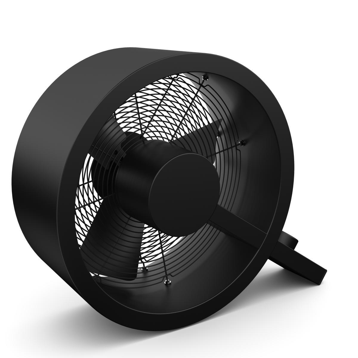 Q Ventilator - der coole Designer Alu/schwarz
