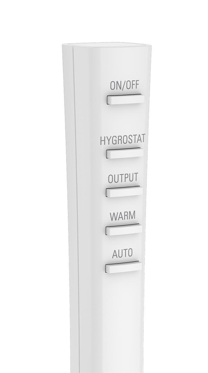 EVA Luftbefeuchter mit externem Sensor in Fernbedienung