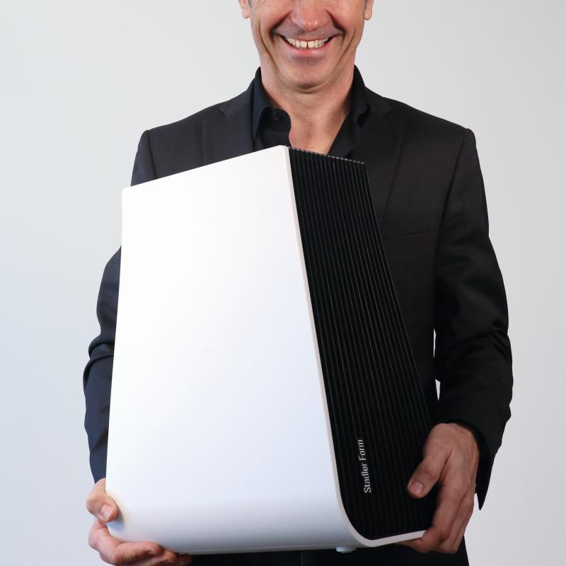 GEORGE Luftwäscher in weiß, die Proportionen