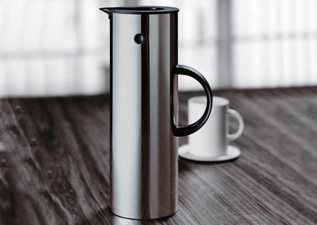 Stahl-Isolierkanne Stelton - 1 Liter