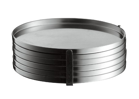 Glasuntersetzer 6 Stück