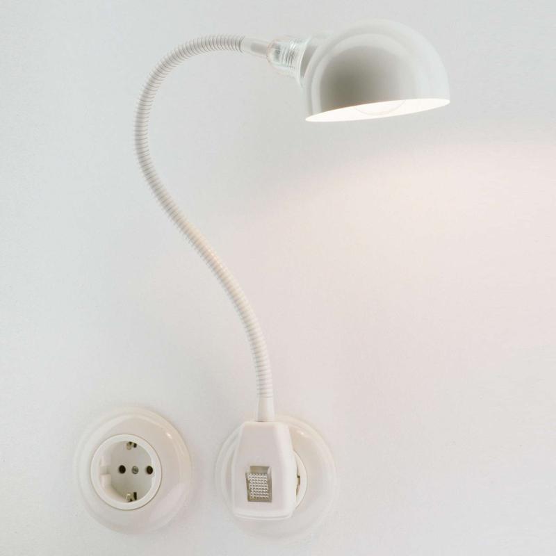 Glühwürmchen Steckerleuchte Standard LED Halbkugel weiß