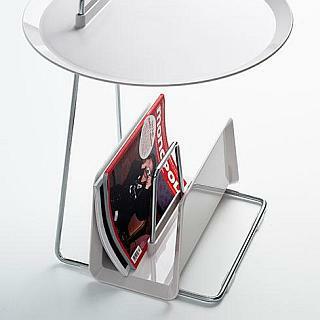 Zeitschriftenständer MAGGI für Tisch PORTER, weiß