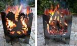 Svenskav Feuerkorb