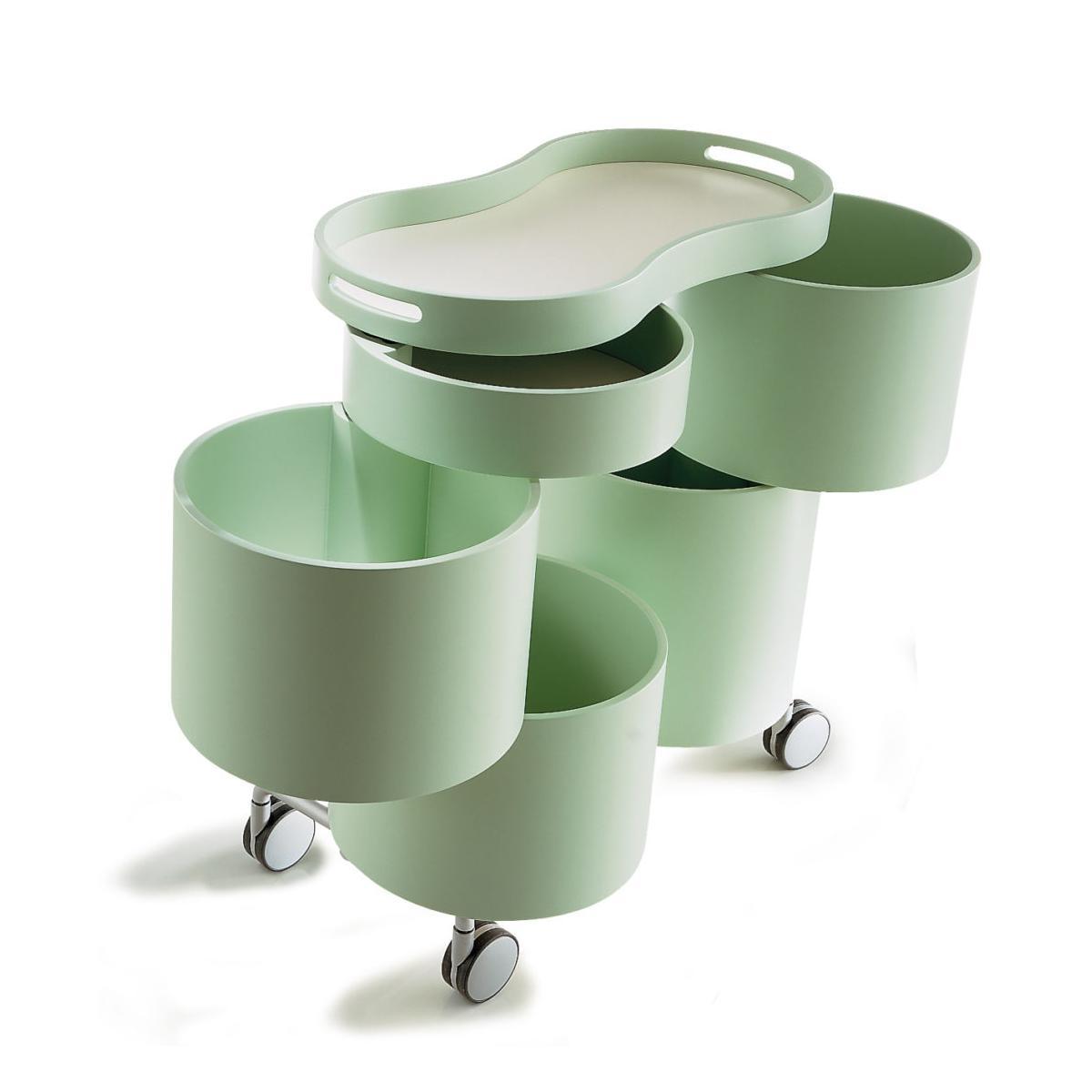 BITTE ROLL Rollcontainer, grün