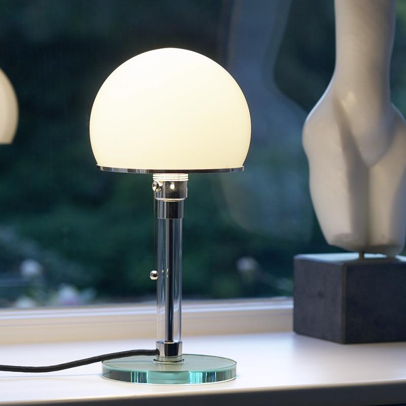 wagenfeld leuchte von tecnolumen bei. Black Bedroom Furniture Sets. Home Design Ideas