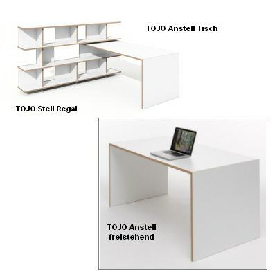 Tojo Tisch Anstell
