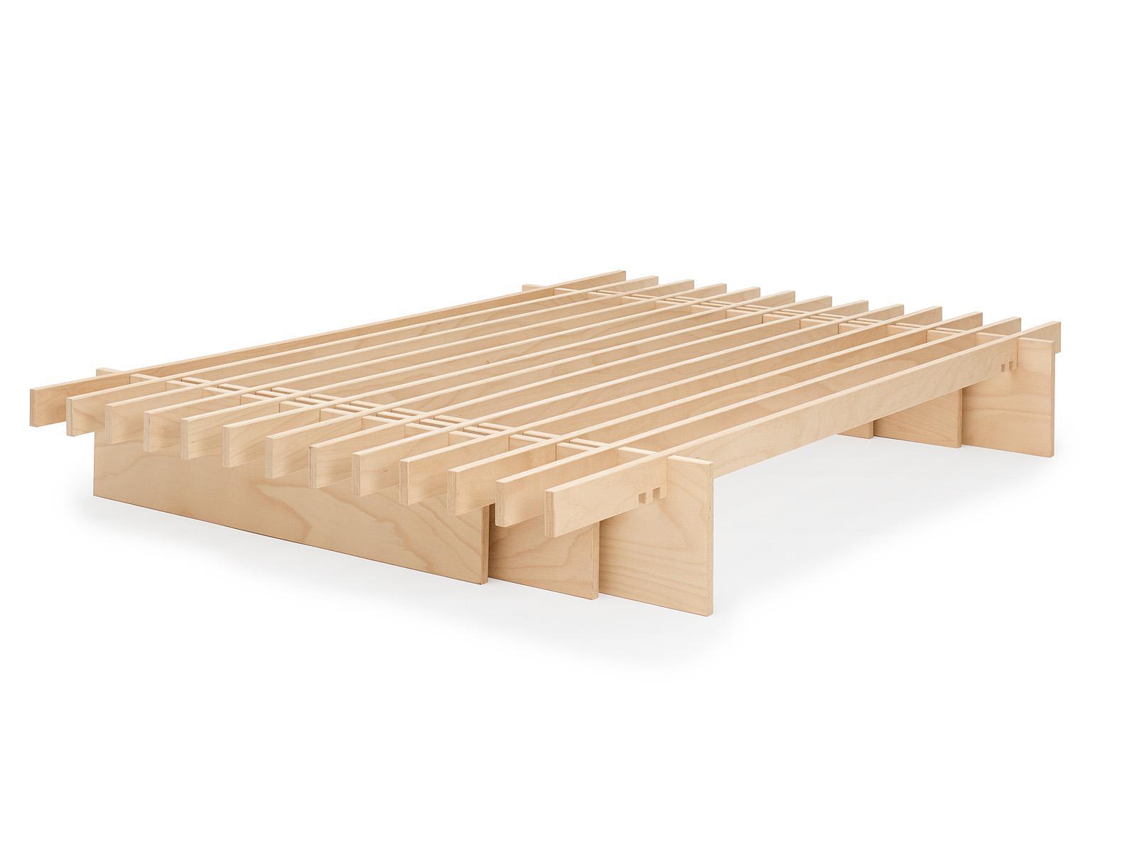Tojo Parallel Bett von 100 bis 200 cm Breite, je nach Anzahl der Latten