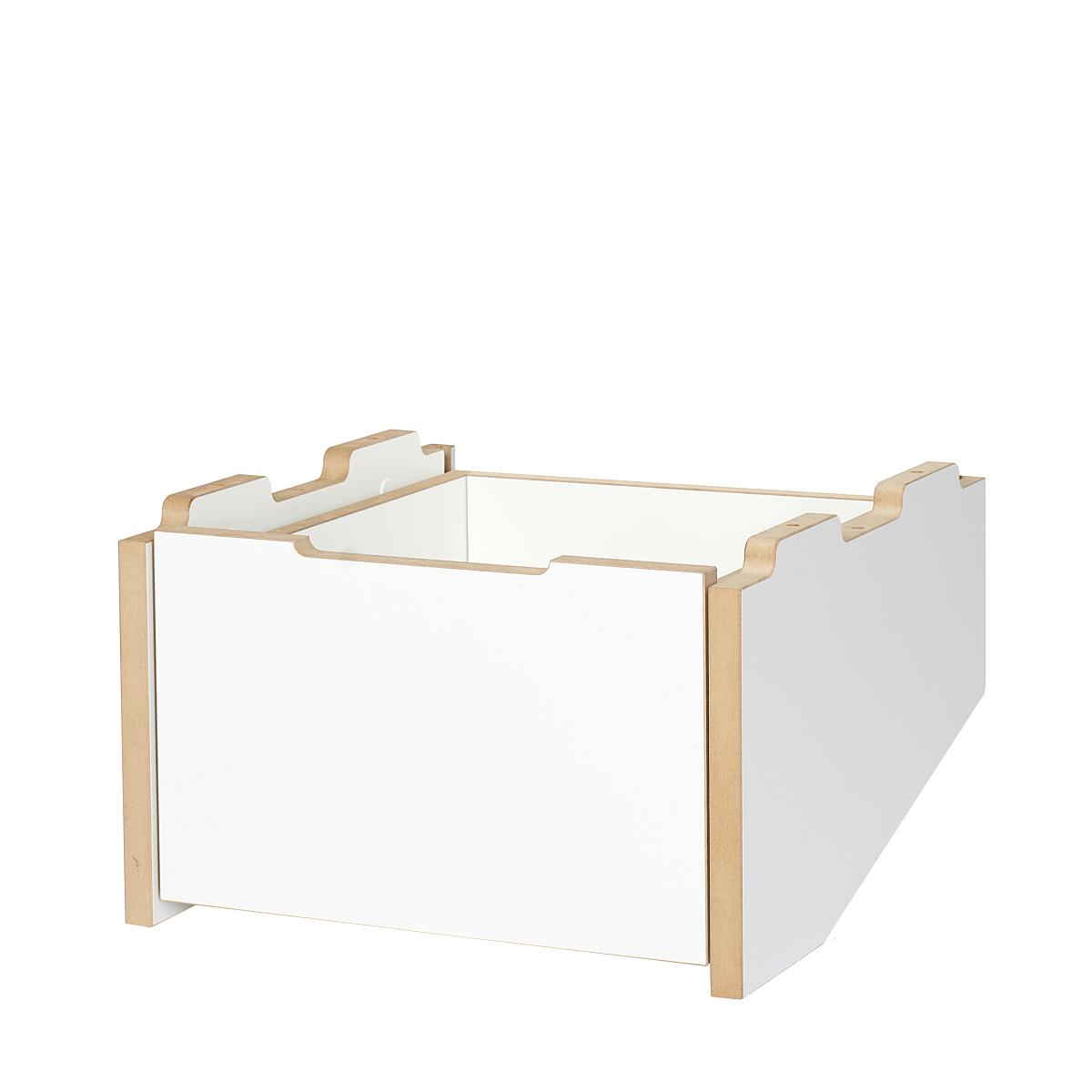Tojo CARGO Container Grundmodul unten weiß