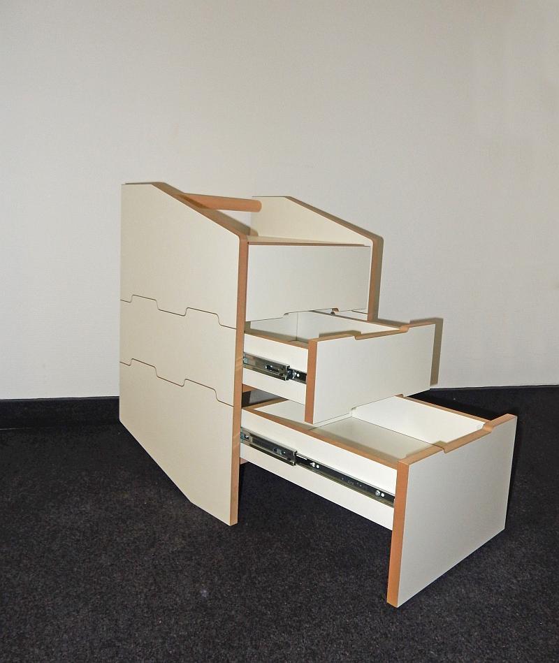 Tojo CARGO Container, Schubladen teilweise mit Teleskopauszug
