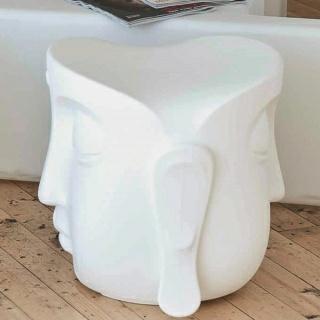 BEATO Sitzhocker beleuchtet Seitenansicht