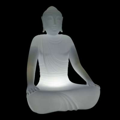 SERENO beleuchteter Gartensessel Indoor mit ESL Beleuchtung
