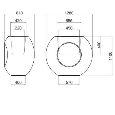 ALBORAN 110 cm - Technische Daten