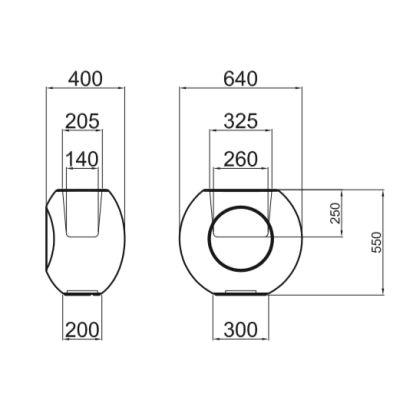 ALBORAN 55 cm - Technische Daten