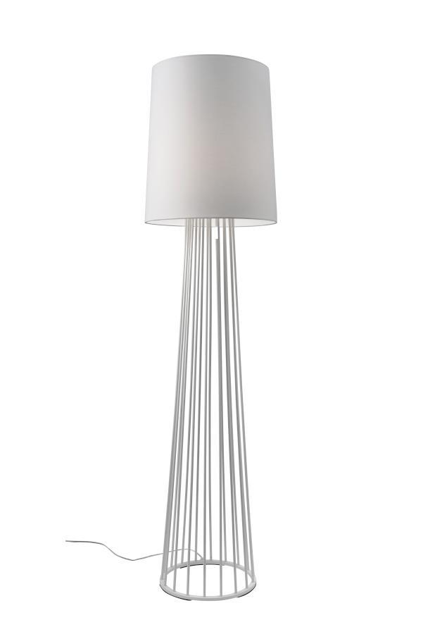 Mailand ST Stehleuchte Metall weiß