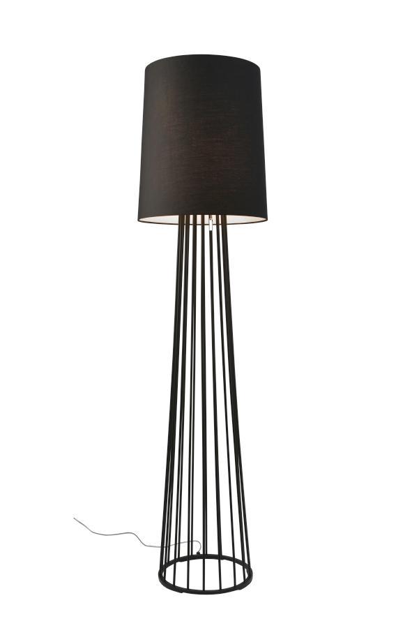 Mailand ST Stehleuchte Metall schwarz