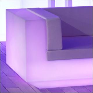 VELA Gartensofa XL beleuchtet