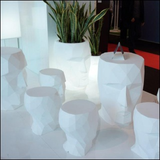 ADAN Hocker/Tisch/Pflanzkübel