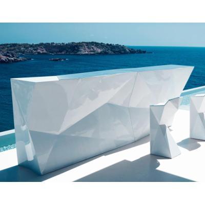 faz bar theke beleuchtet von vondom bei. Black Bedroom Furniture Sets. Home Design Ideas