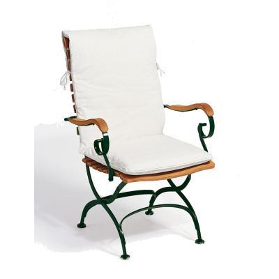 Sitz- und Rückenpolster für Classic-Hochlehner Bezug nach Wunsch