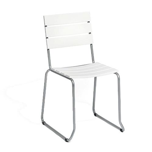 BALCONY Balkonstuhl, stapelbar Kunststoff weiß